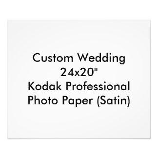 Kundenspezifisch Save the Date Wedding Foto-Druck