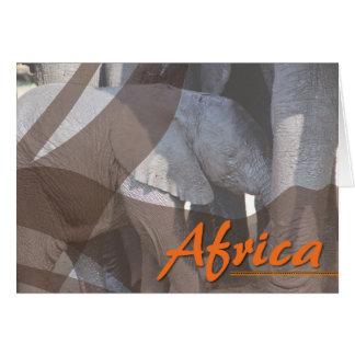 Kundenspezifische afrikanische karte