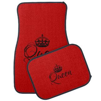 Kundenspezifische Auto-Boden-Matten - Königin-Rot Autofußmatte