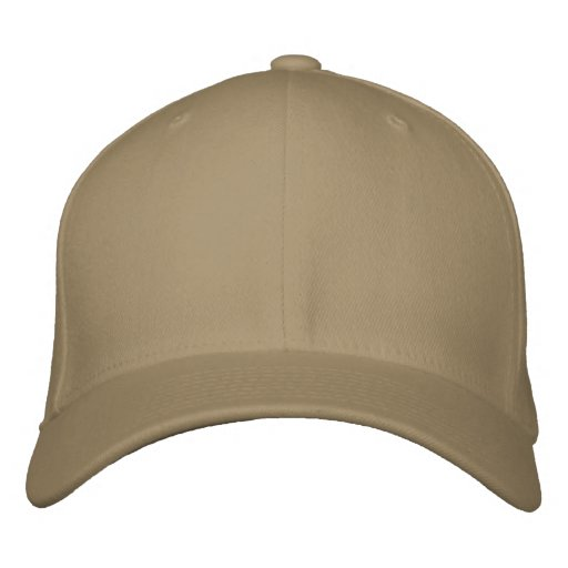 Khaki Basic Flexfit Wollkappe Embroidered Hat