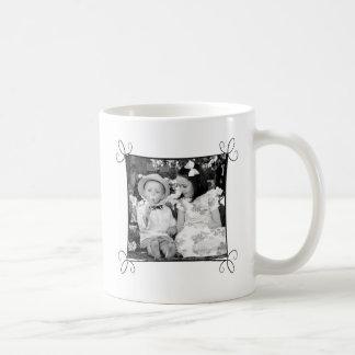 Kundenspezifische Bild-Tasse mit Rahmen Kaffeetasse