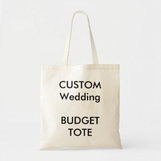 Kundenspezifische Budget-Taschen-Tasche Budget Stoffbeutel