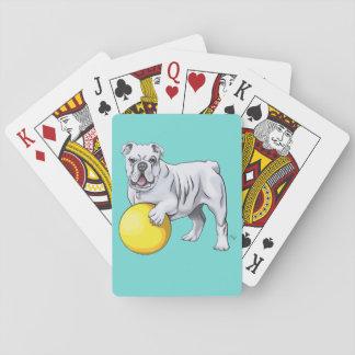 Kundenspezifische Bulldoggen-Spielkarten Spielkarten