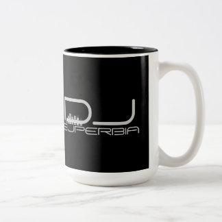 Kundenspezifische DJ-Tasse Zweifarbige Tasse