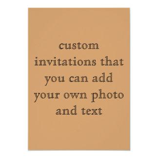 Kundenspezifische doppelseitige Einladung