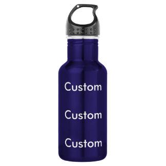 Kundenspezifische DUNKELBLAUE Wasser-Flasche des Trinkflasche