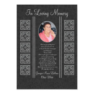 Kundenspezifische Erinnerungsandenken 12,7 X 17,8 Cm Einladungskarte