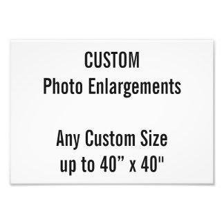 Kundenspezifische Erweiterung des Foto-A4 bis zu Fotodruck