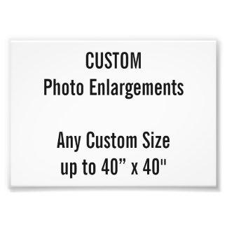 Kundenspezifische Erweiterung des Foto-A6 bis zu Fotodruck