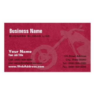 Kundenspezifische Fahrrad-Erbauer-Visitenkarte
