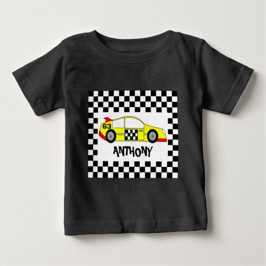 Kundenspezifische Formel 1 Baby T-shirt