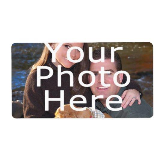 Kundenspezifische Foto-Aufkleber