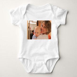 Kundenspezifische Foto-Baby-Abnutzung Baby Strampler