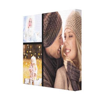 Kundenspezifische Foto-Collagen-Leinwand - Leinwanddruck