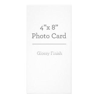 Kundenspezifische Foto-Karten-Schablone Foto Karte