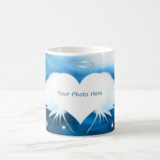 Kundenspezifische Foto-Tasse - Engel des Herzens Kaffeetasse