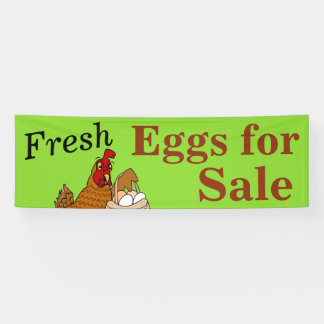 Kundenspezifische frische Eier für die Banner