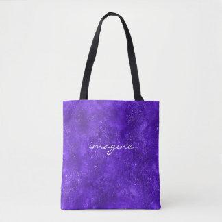 Kundenspezifische Galaxie-Taschentasche Tasche