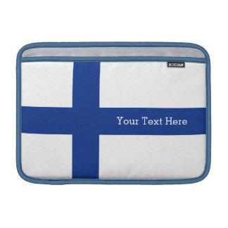Kundenspezifische Geräthülsen der finnischen MacBook Sleeve