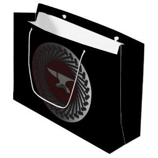 Kundenspezifische Geschenk-Tasche groß - AMBOSS u. Große Geschenktüte