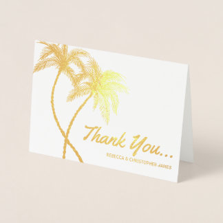 Kundenspezifische Goldfolie danken Ihnen kardiert Folienkarte