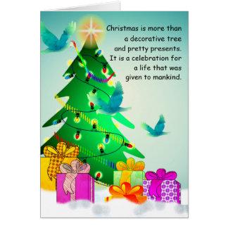 Kundenspezifische Gott-Lieben ein netter Geber Karte
