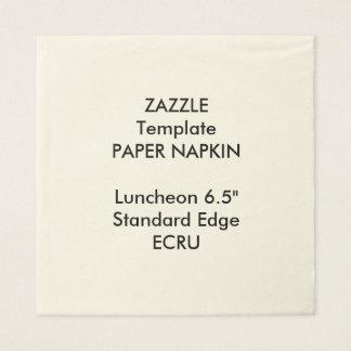 Kundenspezifische große ECRU Papierserviette