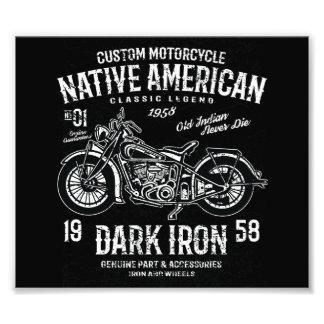 Kundenspezifische Harley indische Fotodruck