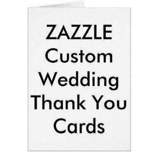 Kundenspezifische Hochzeit danken Ihnen kardiert Grußkarte