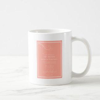Kundenspezifische Hochzeits-Einladungen Teehaferl