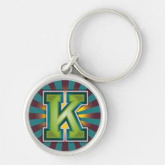 """Kundenspezifische Initiale des Buchstabe-""""K"""" Schlüsselanhänger"""