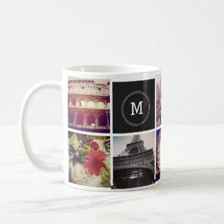 Kundenspezifische Instagram 8 Foto-Tasse Kaffeetasse