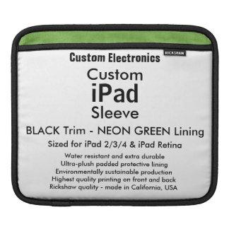 Kundenspezifische iPad Hülse - horizontal Sleeves Für iPads