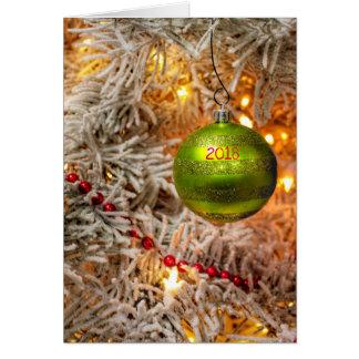 Kundenspezifische Jahr-Weihnachtskarte Karte