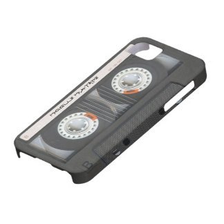 Kundenspezifische Kassette Mixtape iPhone 5 Schutzhülle
