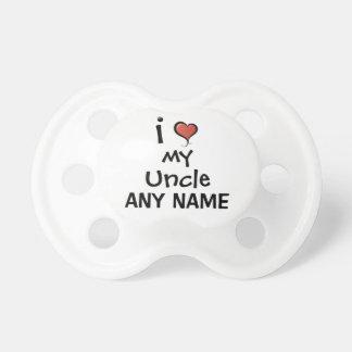 Kundenspezifische Liebe des Schnuller-I mein Onkel Schnuller