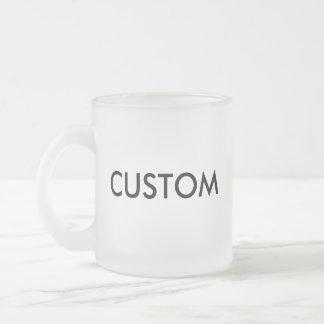 Kundenspezifische mattierte Tasse des Glas-10oz