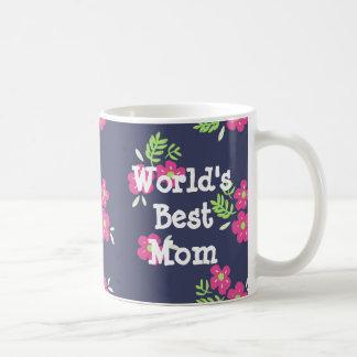 Kundenspezifische Mitteilungs-helle Blumen-Tasse Tasse