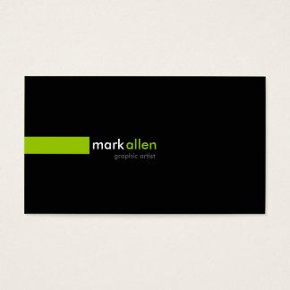 Kundenspezifische moderne 519 visitenkarte