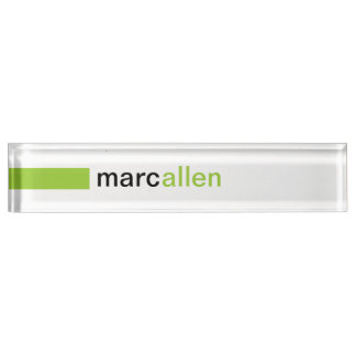 Kundenspezifische moderne 519 (WG) Schreibtischplakette