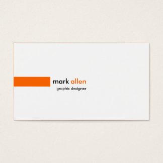 Kundenspezifische moderne 520 visitenkarte