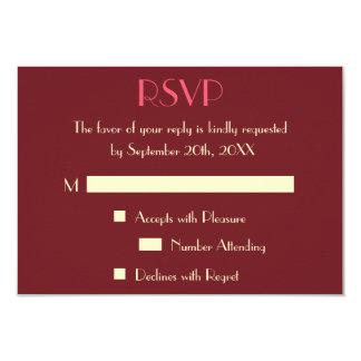 Kundenspezifische moderne elegante Hochzeit UAWG 8,9 X 12,7 Cm Einladungskarte