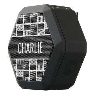 Kundenspezifische Monogramm-Lautsprecher der Schwarze Bluetooth Lautsprecher