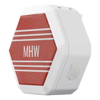 Kundenspezifische Monogramm-Lautsprecher der Weiße Bluetooth Lautsprecher