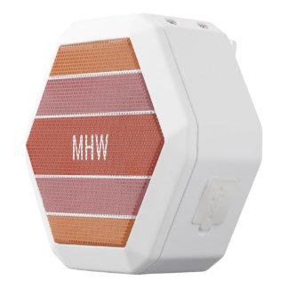 Kundenspezifische Monogramm-Lautsprecher des Weiße Bluetooth Lautsprecher