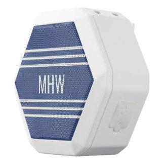 Kundenspezifische Monogramm-MarineLautsprecher der Weiße Bluetooth Lautsprecher