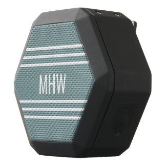 Kundenspezifische Monogramm-StahlLautsprecher der Schwarze Bluetooth Lautsprecher
