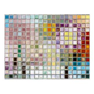 Kundenspezifische multi Farbe irgendeine Postkarte