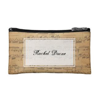 Kundenspezifische Musiknoten-Tasche - irgendeine Makeup-Tasche