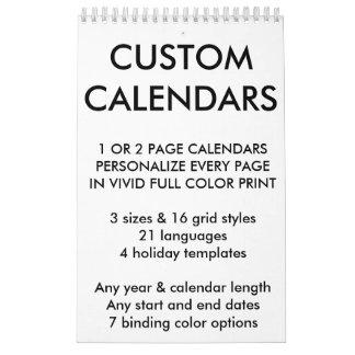 Kundenspezifische personalisierte abreißkalender